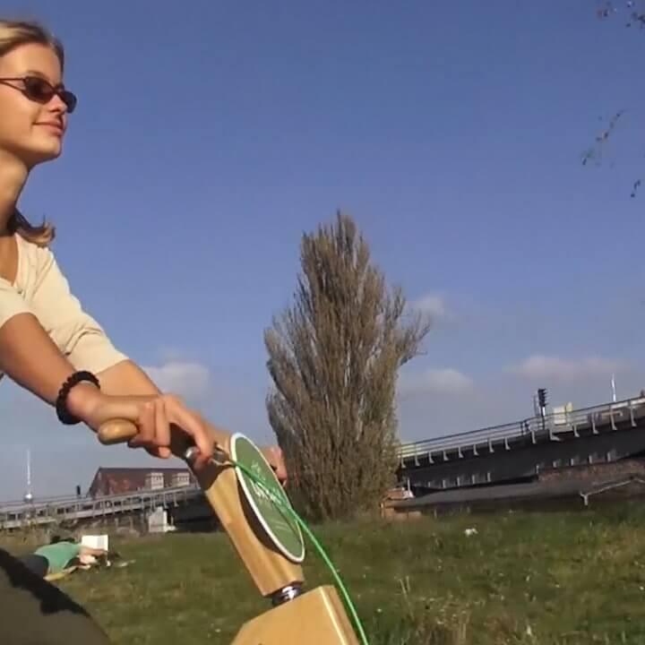 woody bike frau park