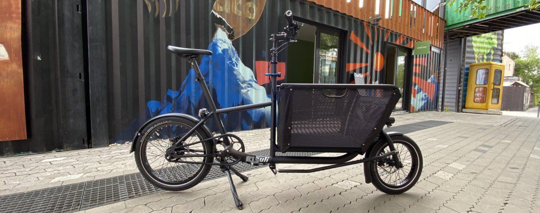 Muli Lastenrad ohne e motor bei urban bike tours münchen