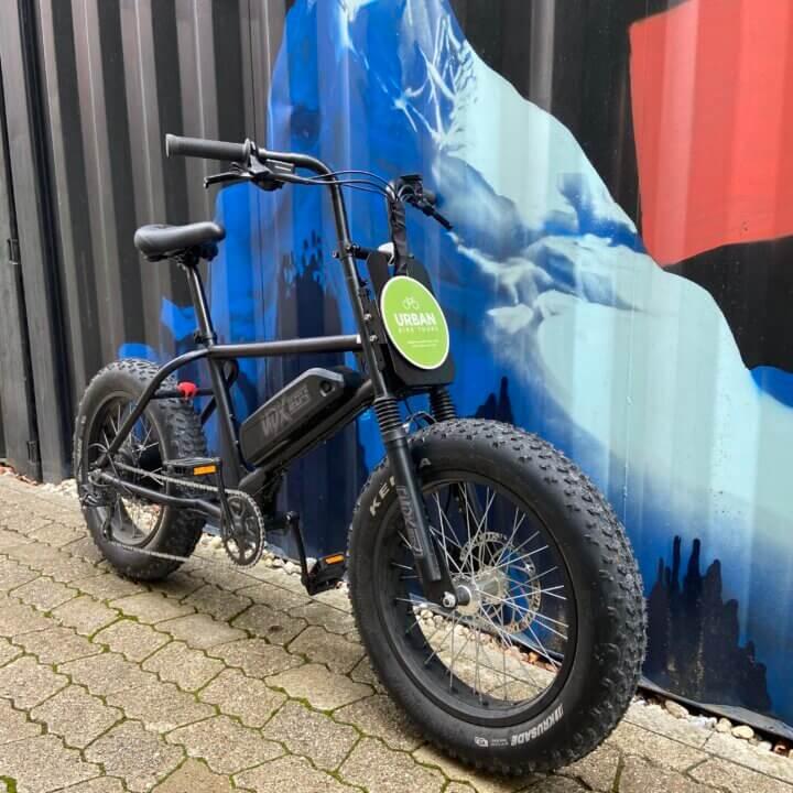 UDX E-Bike bei Urban Bike Tours München