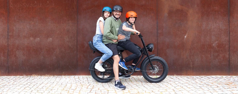 E-Bike MK Klassik mit 3 Personen